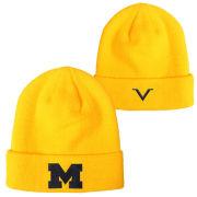 Valiant University of Michigan Yellow Basic Cuffed Knit Hat