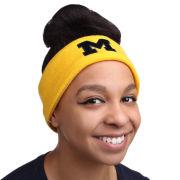 Valiant University of Michigan Yellow Basic Knit Earband