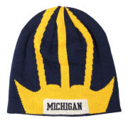 Valiant University of Michigan Football Helmet Knit Beanie Hat
