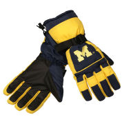 Valiant University of Michigan Yellow Ski Gloves