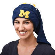 Valiant University of Michigan Navy Hockey Sock Knit Hat