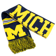 Valiant University of Michigan Sublimated Scarf
