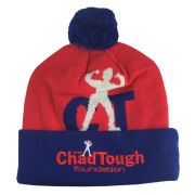 Valiant #ChadTough Foundation Cuffed Pom Knit Hat