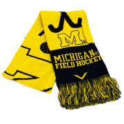 Valiant University of Michigan Field Hockey Knit Scarf
