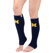 Valiant University of Michigan Women's Navy Leg Warmers