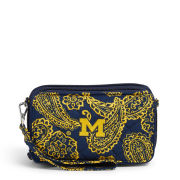 Vera Bradley University of Michigan Iconic RFID All-In-One Crossbody