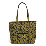 Vera Bradley University of Michigan Iconic Tote Bag