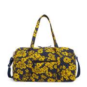 Vera Bradley University of Michigan Rain Garden Large Travel Duffel Bag