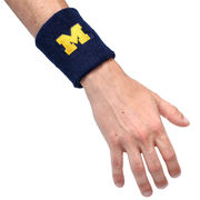 Valiant University of Michigan Navy Block M Wristband
