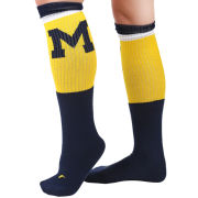 Valiant University of Michigan Navy Block ''M'' Knee High Socks