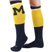 Valiant University of Michigan Navy Block ''M'' Knee High Socks
