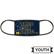 Valiant University of Michigan Youth Trick Or Treat Face Cover
