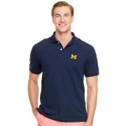 Vineyard Vines University of Michigan Navy Classic Polo Shirt