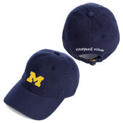 Vineyard Vines University of Michigan Navy Block ''M'' Logo Hat