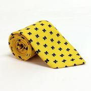 Vineyard Vines University of Michigan Yellow Tie