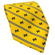 Vineyard Vines University of Michigan Yellow Striped Tie