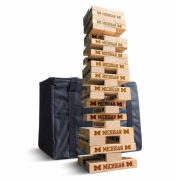 Victory Tailgate University of Michigan 3.5' Tumbling Tower Game