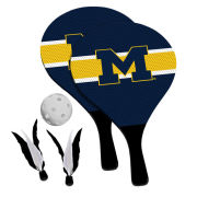 Victory Tailgate University of Michigan 2-in-1 Birdie Pickleball Paddle Game