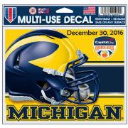 WinCraft University of Michigan Football Orange Bowl Multi-Use Decal