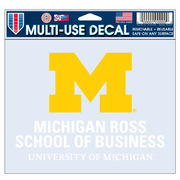 WinCraft University of Michigan Ross School of Business Decal
