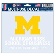 WinCraft University of Michigan Ross School of Business Decal