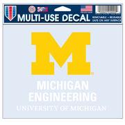 WinCraft University of Michigan College of Engineering Decal