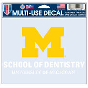 WinCraft University of Michigan School of Dentistry Decal