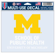 WinCraft University of Michigan School of Public Health Decal