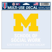 WinCraft University of Michigan School of Social Work Decal