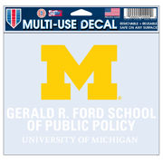 WinCraft University of Michigan Ford School of Public Policy Decal