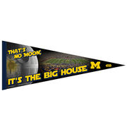 WinCraft University of Michigan Star Wars That's No Moon Pennant