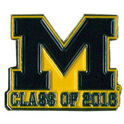 WinCraft University of Michigan Alumni Class of 2016 Lapel Pin