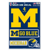WinCraft University of Michigan 11x17 Multi-Use Decals