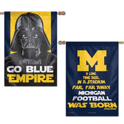 WinCraft University of Michigan Star Wars Go Blue Empire House Flag