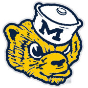 WinCraft University of Michigan College Vault Wolverine Lapel Pin