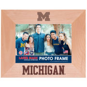 WinCraft University of Michigan Laser Engraved 5x7 Wood Frame [Horizontal]