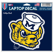 WinCraft University of Michigan College Vault Wolverine Laptop Decal