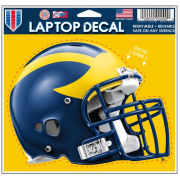 WinCraft University of Michigan Football Helmet Laptop Decal