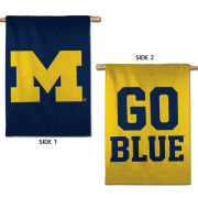 WinCraft University of Michigan Two-Sided House Flag