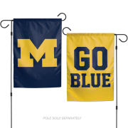 WinCraft University of Michigan Two-Sided Garden Flag