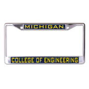 WinCraft University of Michigan College of Engineering Inlaid Laser Magic License Plate Frame