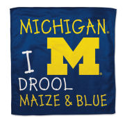 WinCraft University of Michigan ''I Drool Maize & Blue'' Burp Cloth