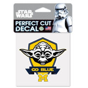 WinCraft University of Michigan Star Wars Yoda Decal