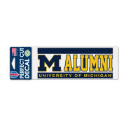 WinCraft University of Michigan Alumni Decal