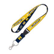 Wincraft University of Michigan College Vault Logo Evolution Lanyard
