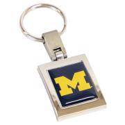 WinCraft University of Michigan Rectangular Metal Keychain