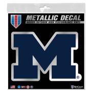 WinCraft University of Michigan Navy Metallic Block ''M'' Logo Decal