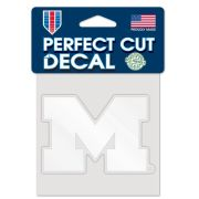 WinCraft University of Michigan White Block ''M'' Decal
