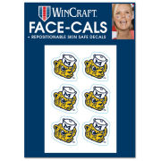 WinCraft University of Michigan College Vault Wolverine Face-Cals Temporary Tattoos [6-Pack]