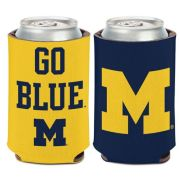 WinCraft University of Michigan ''Go Blue'' Can Cooler
